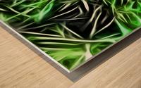 Interdigitate Wood print