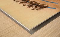 workers Impression sur bois