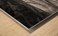 Run Aground - Echouer Wood print