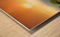 Sunrise at Niagara Falls Wood print