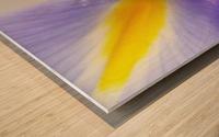 Inner Iris Wood print