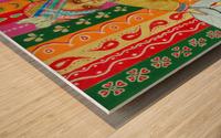 Mini Maharajah Wood print