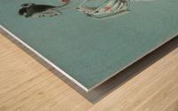 Mid-Century Mode Wood print