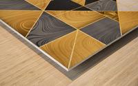 Geometric XXIV Wood print
