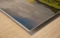 Sunshine Bridge at Cartecay Vineyard Wood print