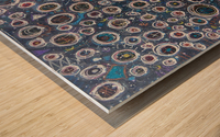 Hubble's Deep Field Wood print
