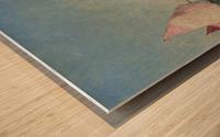 The Belfry of Croisic Wood print