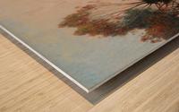 Sailer at Marais de la Grande Briere Wood print