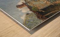 The Farmyard, Moret Wood print