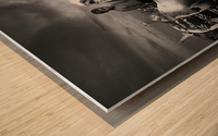 Power Wood print