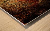 Bubbles Reimagined 94 Wood print
