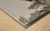 Blanchard Covered Bridge Wood print