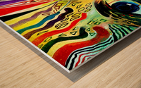 Expressionism 2 Wood print