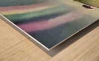 Under the rainbow Wood print