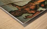 Hercules and Nessus by Franz von Stuck Wood print