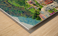 Colorful village of Cinque Terre Wood print