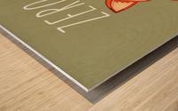 Zero Fox Given Wood print
