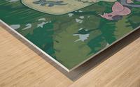 Frunkee Wood print