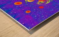 Star Dragon Wood print
