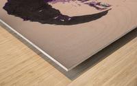 2014 Sad Bowie Wood print