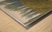 Haystacks Wood print