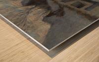 Snowy Landscape, Etaples Wood print