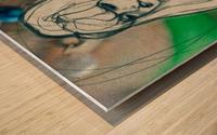 Chevelure 4 Wood print