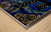 Austin Starry Night. Tala S. Wood print