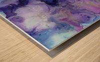 PURPLE CLOUDS Wood print