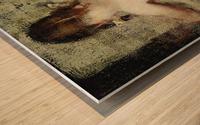 Pigtails Wood print