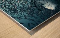 Bend Wood print