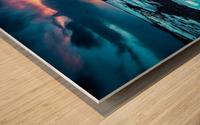 Badlands III Wood print