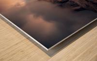 The Final Moment Wood print