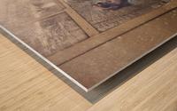 Take care Wood print