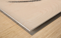 Minimalist Wood print