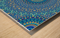 Mandala_5A Wood print