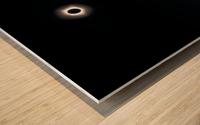 Eclipse 2017 Wood print
