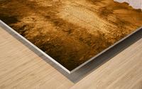Tropical XVI - Golden Beach Wood print