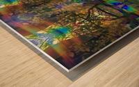 Colliding Universes Wood print