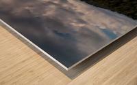 California Cloudscape Wood print