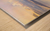 Les Saintes Wood print
