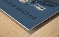 Carrera Wood print