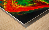 Cosmic Fusion Wood print
