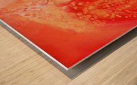 Cosmic Rose Wood print