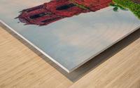 Chucrh Wood print