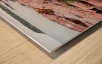 Pink Granite Shore Killarney I Wood print