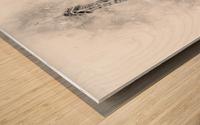 Monochrome Art EIFFEL TOWER | watercolor Wood print