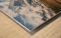 Trailhead Wood print