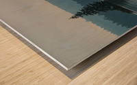 Cedar Lake Wood print