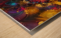 Colorful Fantasy Wood print
